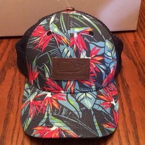 Vineyard Vines SnapBack Truckers Cap Hat Tropical
